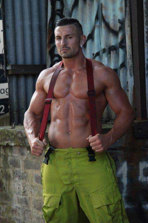 Daniel - Hot Male Strippers Fireman