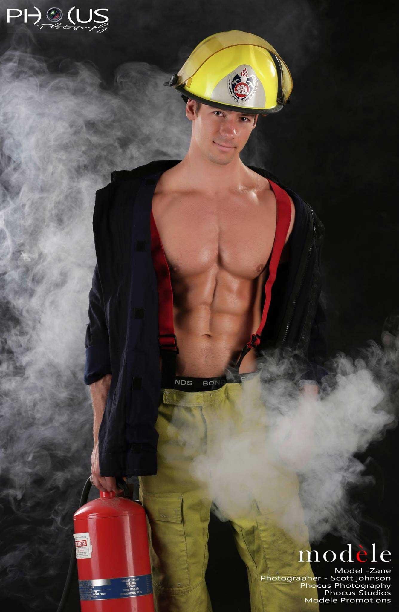 Zane - Hot Male Strippers Fireman